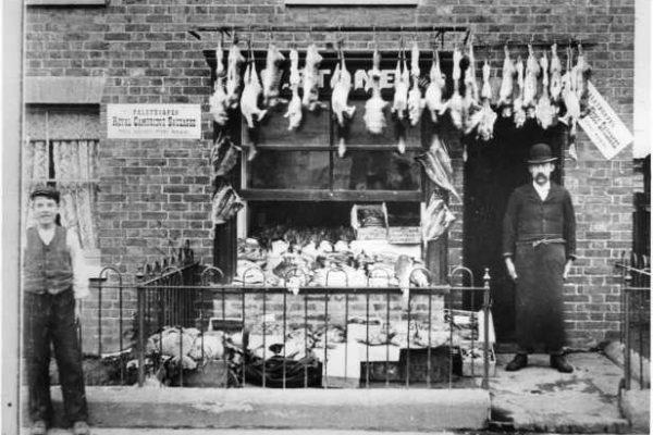 East Grinstead Museum - Butcher, Mr W. Stone, on Railway Approach
