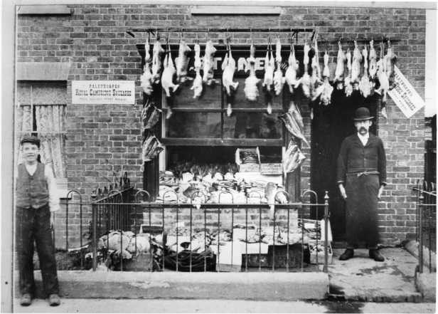 East Grinstead Museum – Butcher, Mr W. Stone, on Railway Approach
