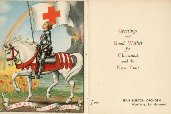 East Grinstead Museum - Christmas Greeting Card from Jean Burton Croyden
