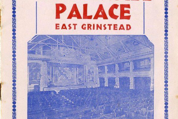 East Grinstead Museum - Whitehall Palace East Grinstead programme