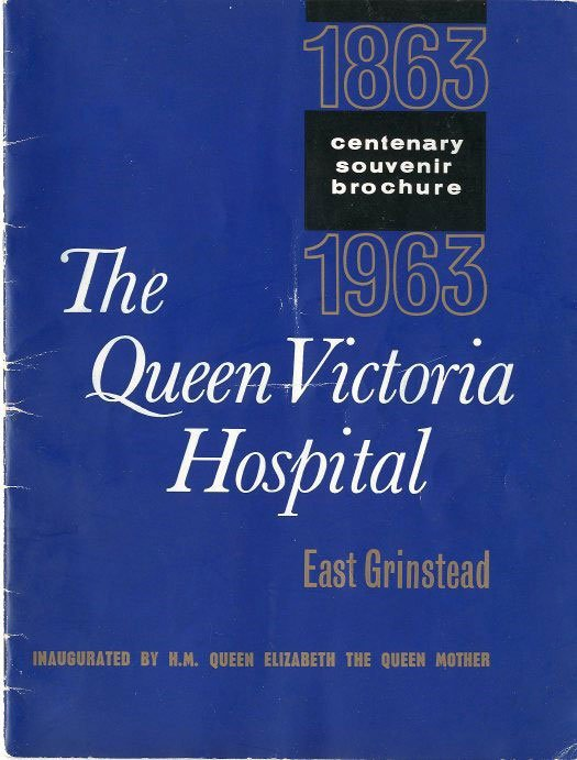 Eats Grinstead Museum – The Queen Victoria Hospital Centenary souvenir brochure