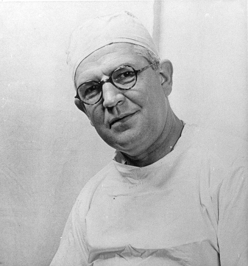 Sir Archibald McIndoe surgeon
