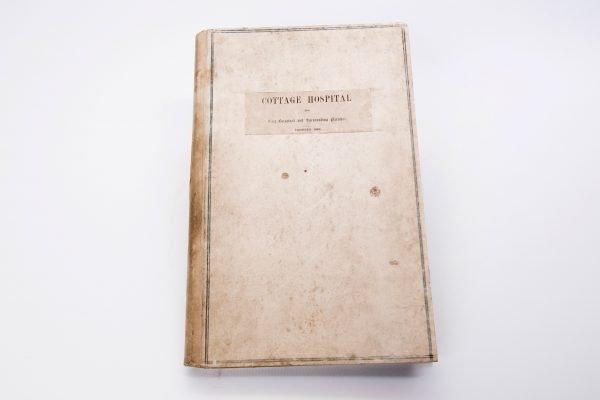 Cottage Hospital Register - 1863