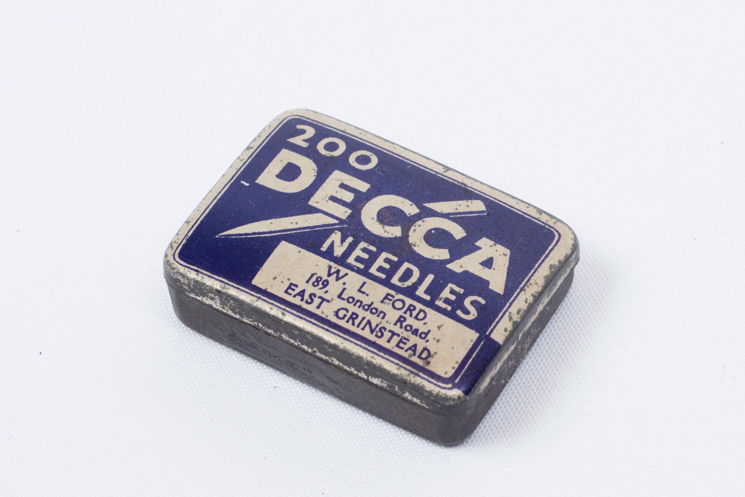 200 DECCA Gramophone Needles – East Grinstead Museum