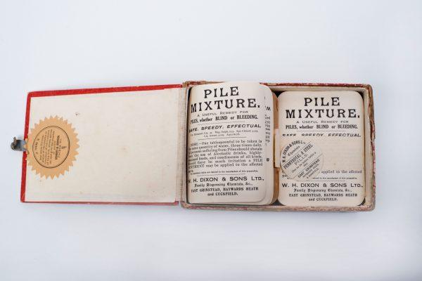 Chemist's Labels East Grinstead Museum