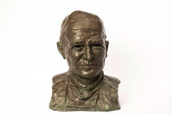 Bust of McIndoe by artist tbc