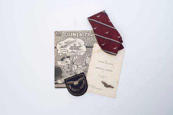Pin Badge Tie Blazer Badge And Magazine