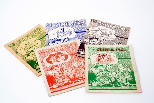 selection of early guinea pig club magazines